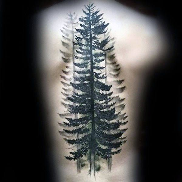 70 Watercolor Tree Tattoo Designs For Men – Manly Nature Ideas