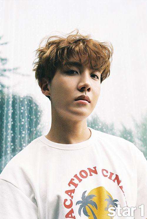 """¡La revista @star1 ha revelado su entrevista y sesión fotográfica con el popular grupo BTS! Actualmente ocupados con su gira por Asia, los miembros revelaron su felicidad y agradecimiento por poder reunirse con sus fans en el extranjero nuevamente a través de esta oportunidad. Jimin dijo: """"Siempre me divierto y me siento feliz en el …"""