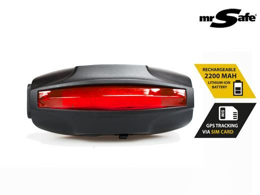 Bicycle gps tracking tail light.