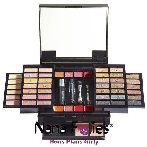Nocibé palette de maquillage Like an Expert - 12.95€ #cadeau #fetedesmeres #beauté #maquillage #palette #frenchbogger #blog #nanafolies