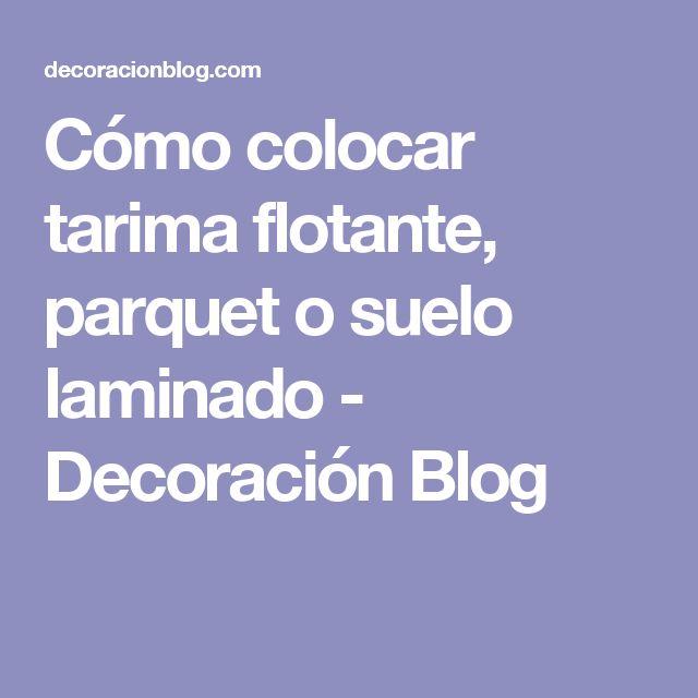 Best 25 tarima flotante ideas on pinterest suelo flotante parquet flotante and piso flotante - Acron tarimas ...