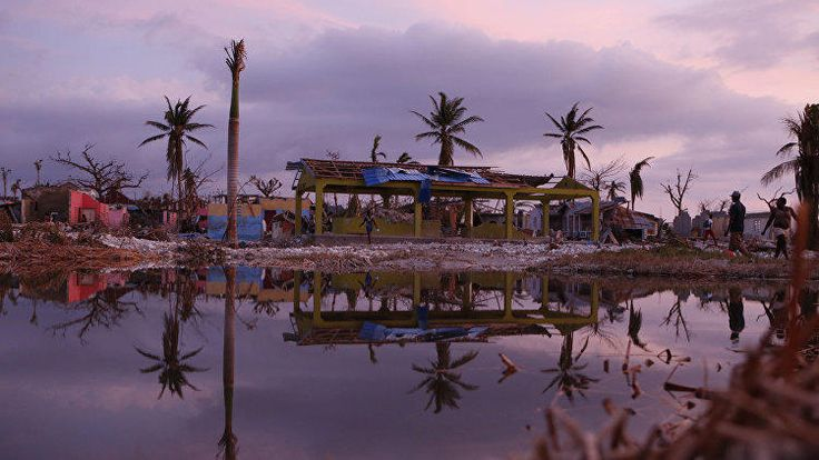 ООН количество жертв урагана Мэтью на Гаити будет расти - РИА Новости