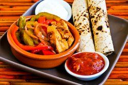 Chicken Fajitas in the Crockpot (from MomFood) | Recipe