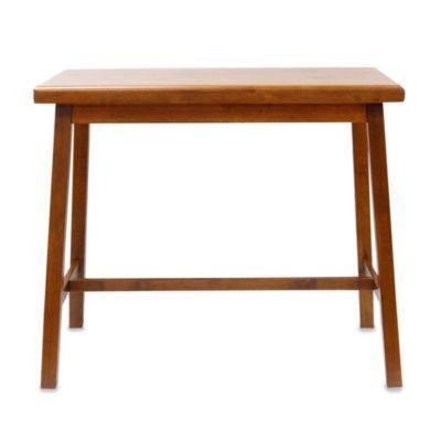 Carolina Chair & Table Antique Asian Bar in Walnut - BedBathandBeyond.com