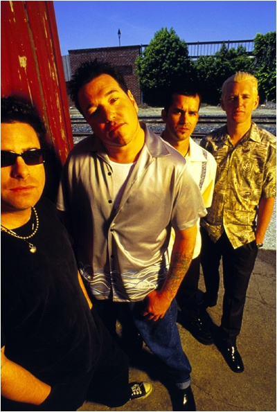 Smash Mouth is an American pop rock band from San Jose, California. The band was formed in 1994, and was originally composed of Steve Harwell, Greg Camp, Paul De Lisle and Kevin Coleman as lead vocals, guitar, bass and drums respectively
