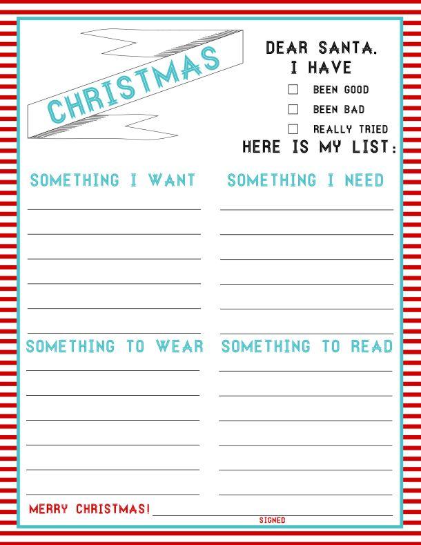Best 25+ Santa wish list ideas on Pinterest Santa list, Santa - christmas wish list form