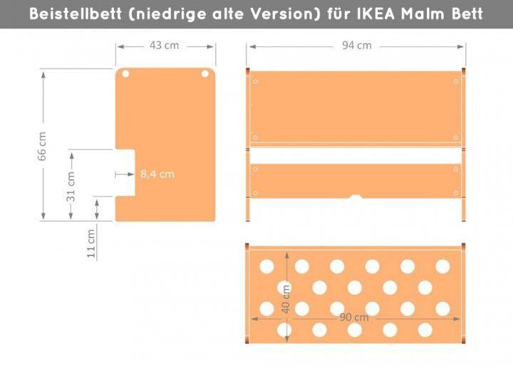 Ikea Malm Beistellbett Natur Malm Bett Kommode Ikea Mobel