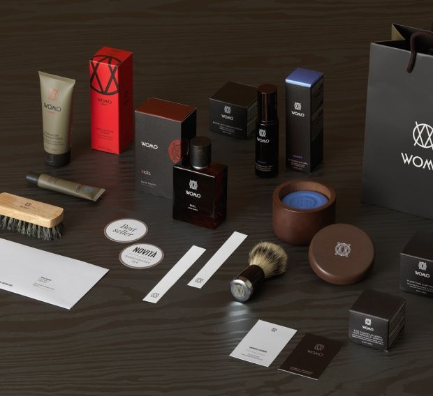 Percassi, Womo Brand Development. The brand has been applied to 360 °, from packaging to accessories and stationery communication in store, from promotional language to the iconic language.