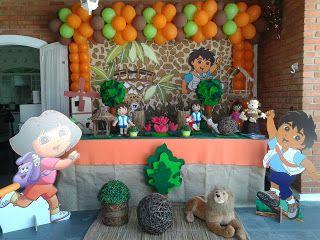 Go Diego Go Themed/Birthday Party Idea