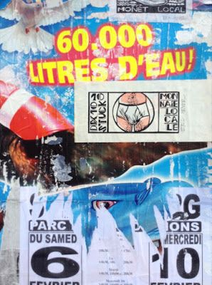 """NOTGELD: """"10 Stück Monnaie Locale"""", Notgeld, linogravure."""