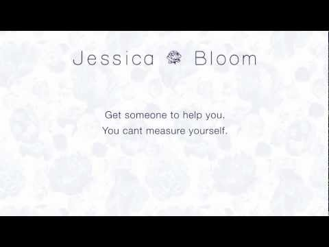 At Jessica Bloom we believe that dresses should fit beautifully which is why we make the  dress to your measurements. Watch this video  to learn how to measure yourself correctly for when you buy a Jessica Bloom dress.