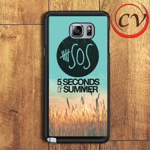 5 Second Of Summer Samsung Galaxy Note 7 Case