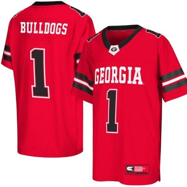NCAA Georgia Bulldogs Colosseum Youth Football Jersey