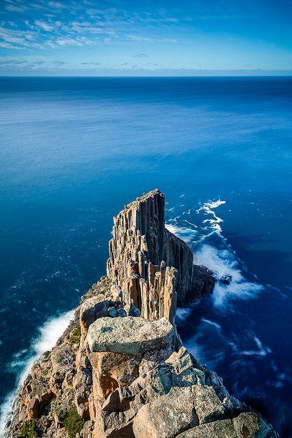 Tasmanian coast... Cape Raoul Blues | Flickr - Photo Sharing!