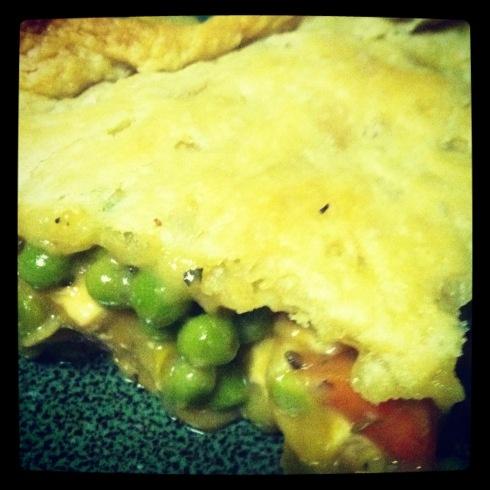 vegan tofu pot pie | Vegan and vegetarian | Pinterest