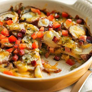 Denver Potato Casserole From Better Homes and Gardens, ideas and improvement projects for your home and garden plus recipes and entertaining ideas.