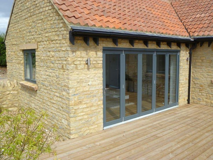 Bi-folding doorset supplied by PDS offering high quality timber doors timber windows and & 17 best PDS Doorsets images on Pinterest | Timber windows Bespoke ...
