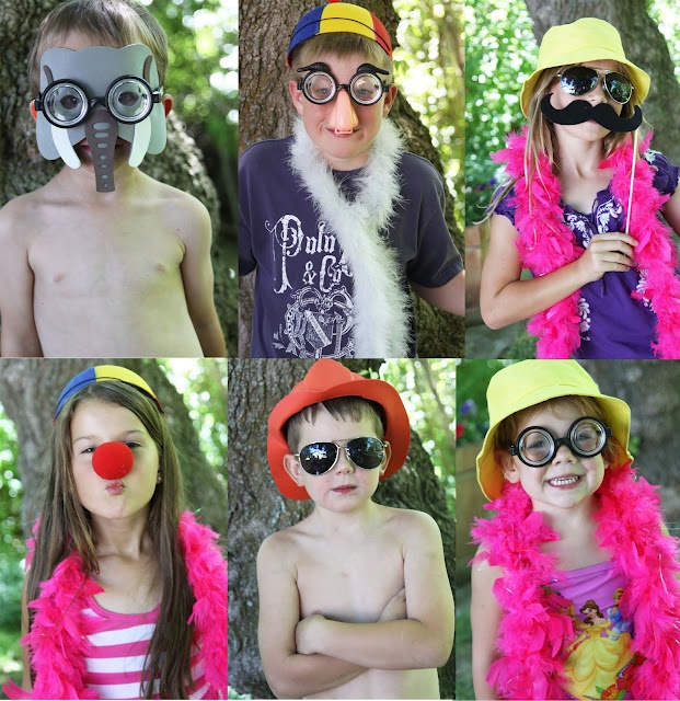 Summer Activity Or Party Idea for a Backyard Carnival! Inexpensive decorations, homemade fun games,  photo booth, and food ideas. This idea will keep kids entertained, engaged, and provide lots of exercise running around!