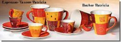 ChaCult Espresso-Tasse Patricia - Teevino - Teezubehör online kaufen - ChaCult - Mila-Design - Willow Tree - Pagoda