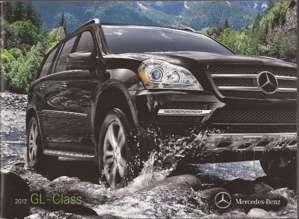 Cool Awesome 2012 12  Mercedes Benz GL Class  Original  brochure  2018