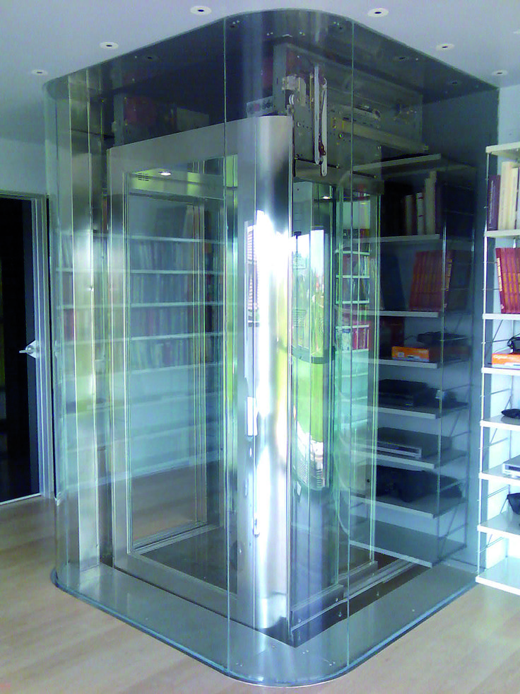 Domestic Lift With A Glass Cabin Http Acelifts Com