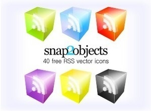 Here's a fantastic collection of 3D RSS icons that you can download for free! #social #media #icon #vector #free