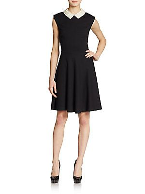 wrong picture chetta b striped a line dress- SaksOff5th