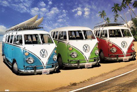 VW CAMPERS Pôster