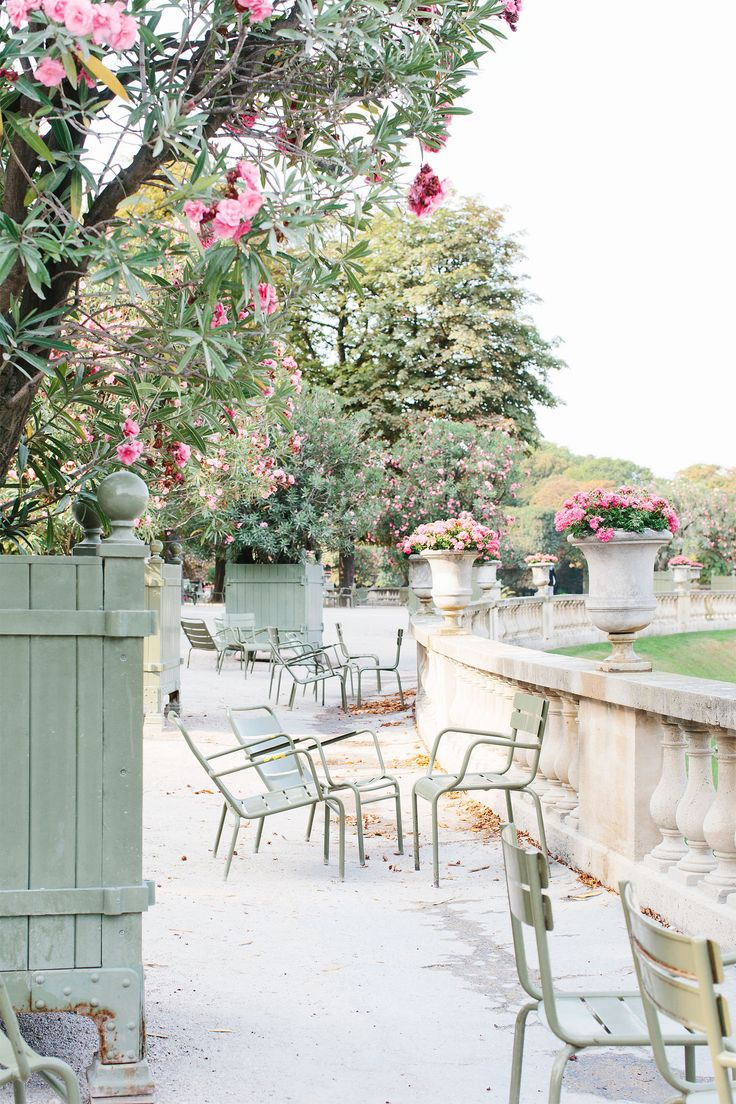 The Jardin du Luxembourg is one of the most famous gardens in Paris, France.