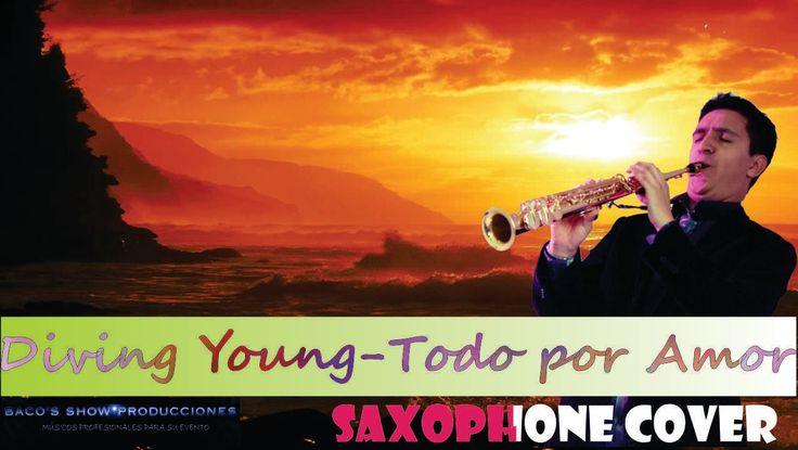 MUSICA ROMANTICA AMERICANA EN SAXOFON EN BOGOTA (DIVING YOUNG- KENNY G)