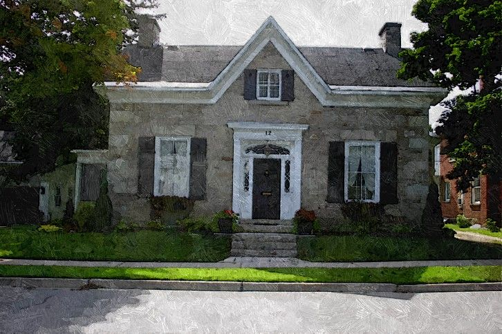 1000 Images About Ontario Stone Houses On Pinterest