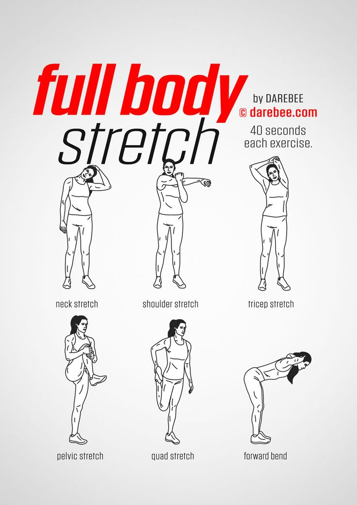Full Body Stretches Before Bed