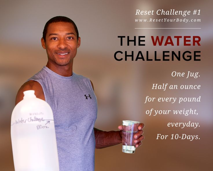 Water Challenge! | Reset Your Body with Terry Givens