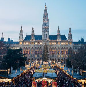 Christmas in Vienna  Which other city on earth stages a more festive December than Vienna?  Great article all about Vienna - where to go, what to see, what to eat!