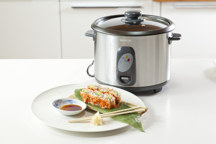California rolls and rice cooker Sencor SRM 1800SS