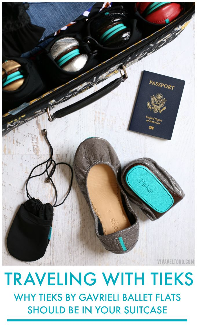 No matter where I go, I always bring my Tieks ballet flats. Here's why they're the best flats for travel and why they should be in your suitcase too.