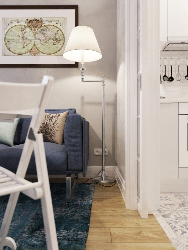 Проектирование для супер небольших помещений: 5 Micro Квартиры