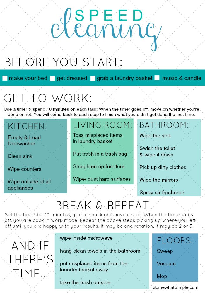 %name speed cleaning cheat sheet    Dedicated to procrastinators and lazy people every...