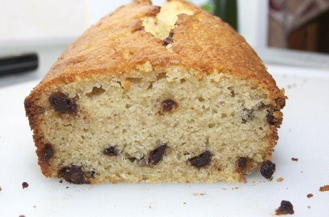 Bananencake met chocoladestukjes - yummy in my tummy