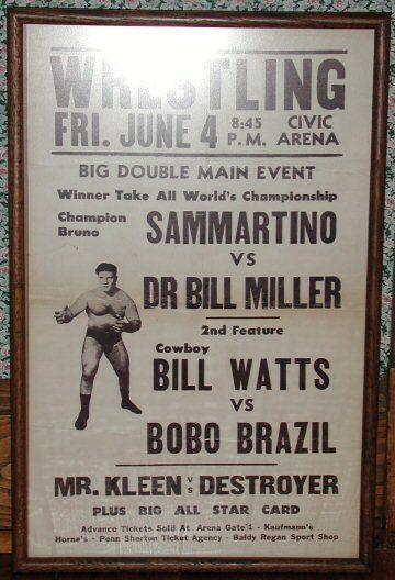 Bruno Sammartino Vintage | Bruno Sammartino vs. Dr. Bill Miller - 1965
