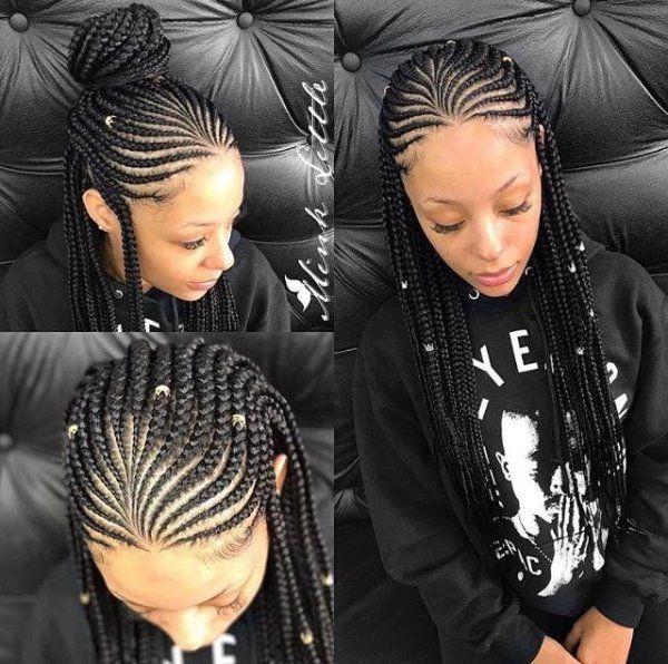 40 Best Braided Hairstyles For Fashionistas Wedding Digest Naija Hair Styles Cool Braid Hairstyles Cornrow Hairstyles