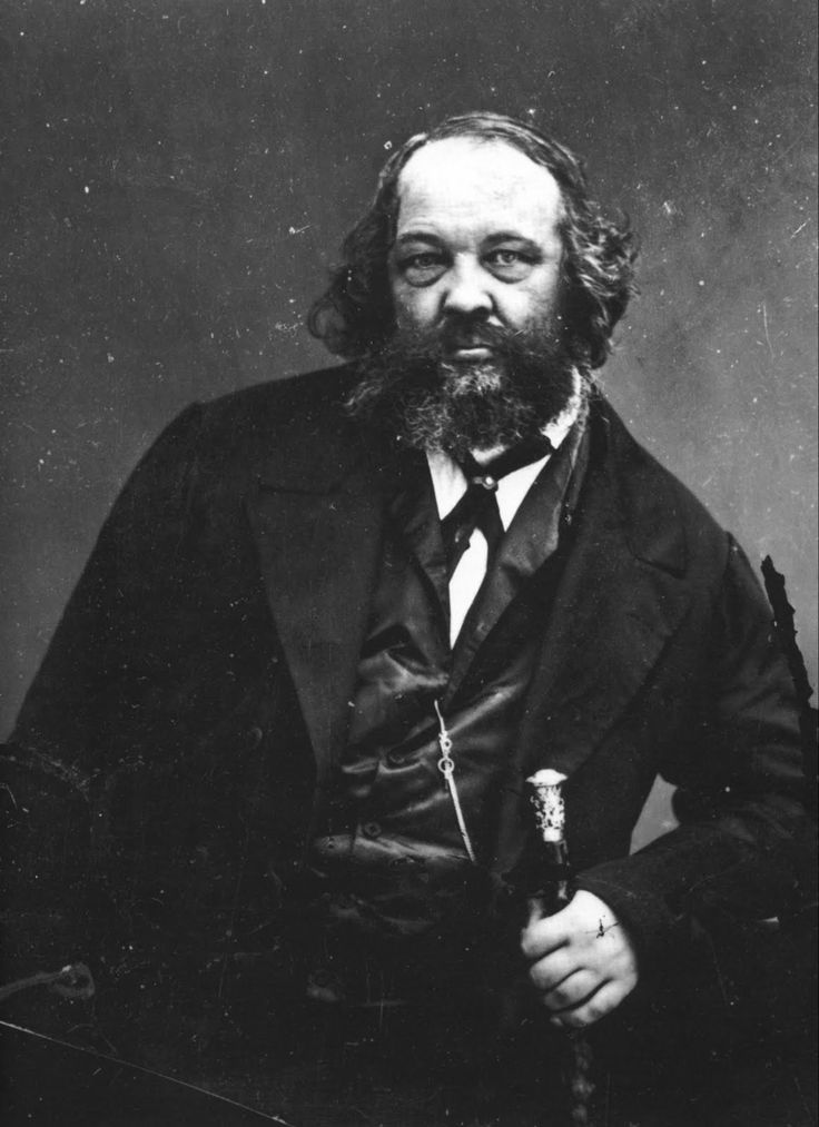 """""""No theory, no ready-made system, no book that has ever been written will save the world. I cleave to no system. I am a true seeker.""""  Mikhail Bakunin 