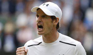 Andy Murray keeps focus on beating John Millman at Wimbledon | Sport | The Guardian