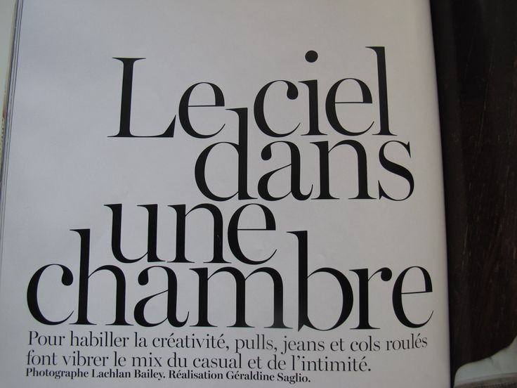 French Vogue Serif font