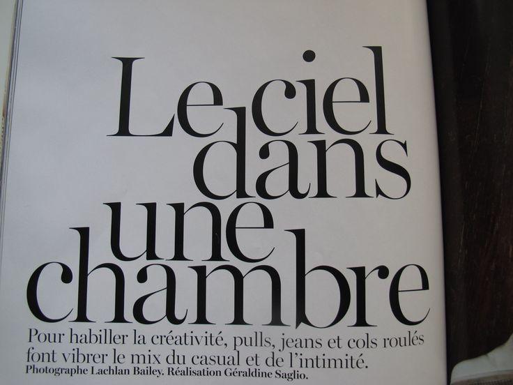 French Vogue Serif font