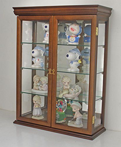 Best 25 wall curio cabinet ideas on pinterest wallpaper handcrafted solid wood wall curio cabinet for small collectibles at your home mirrored background to reflect light you can mount this on the wall sciox Gallery