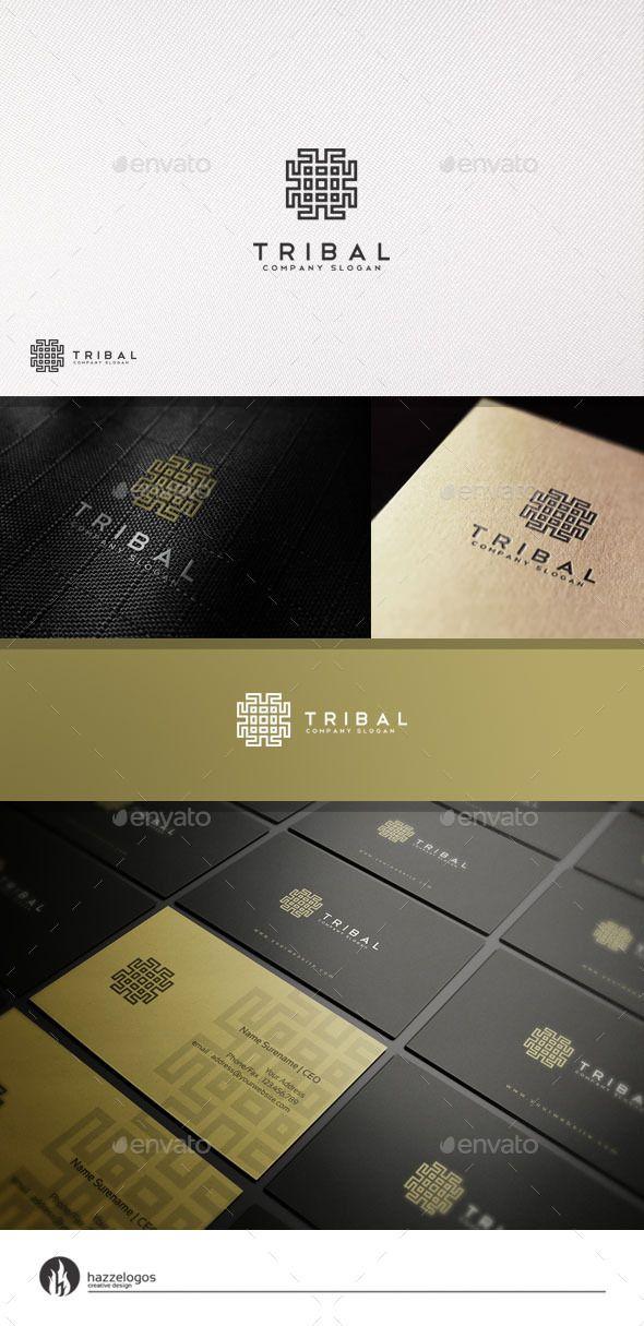 Tribal  Logo Design Template Vector #logotype Download it here: http://graphicriver.net/item/tribal-logo/11050995?s_rank=1063?ref=nexion