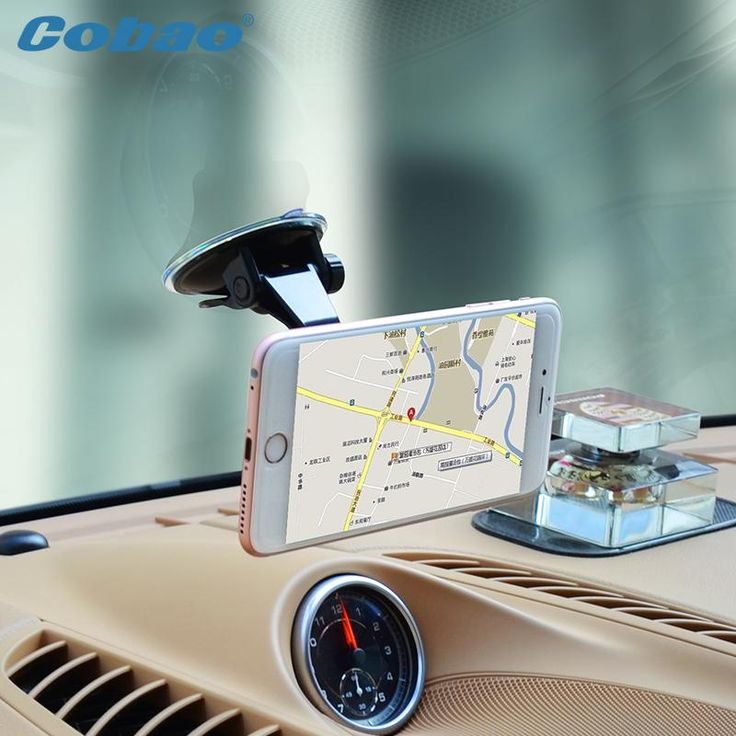 Universal Magnetic Phone Holder Windshield / Window Mount