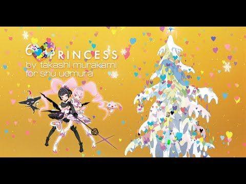 Six Heart Princess by Takashi Murakami for Shu Uemura