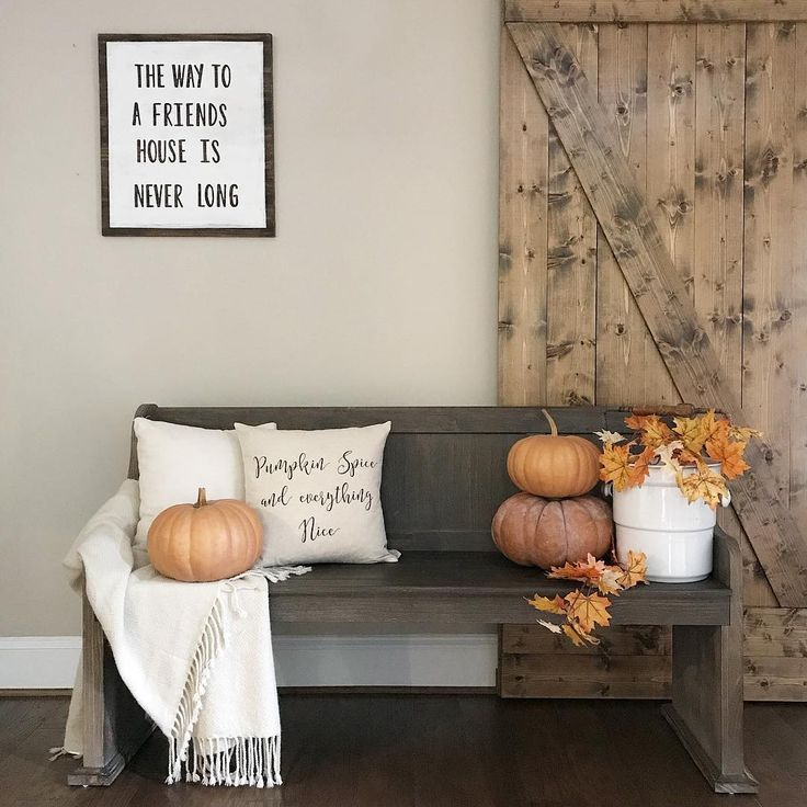Urban Farmhouse White Chic Kitchens Modern Farm Houses Apartments Decorating Harvest Time Front Porch Happy Fall